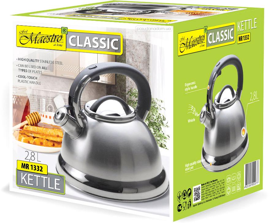 Чайник Maestro MR-1332 2 л, каталог