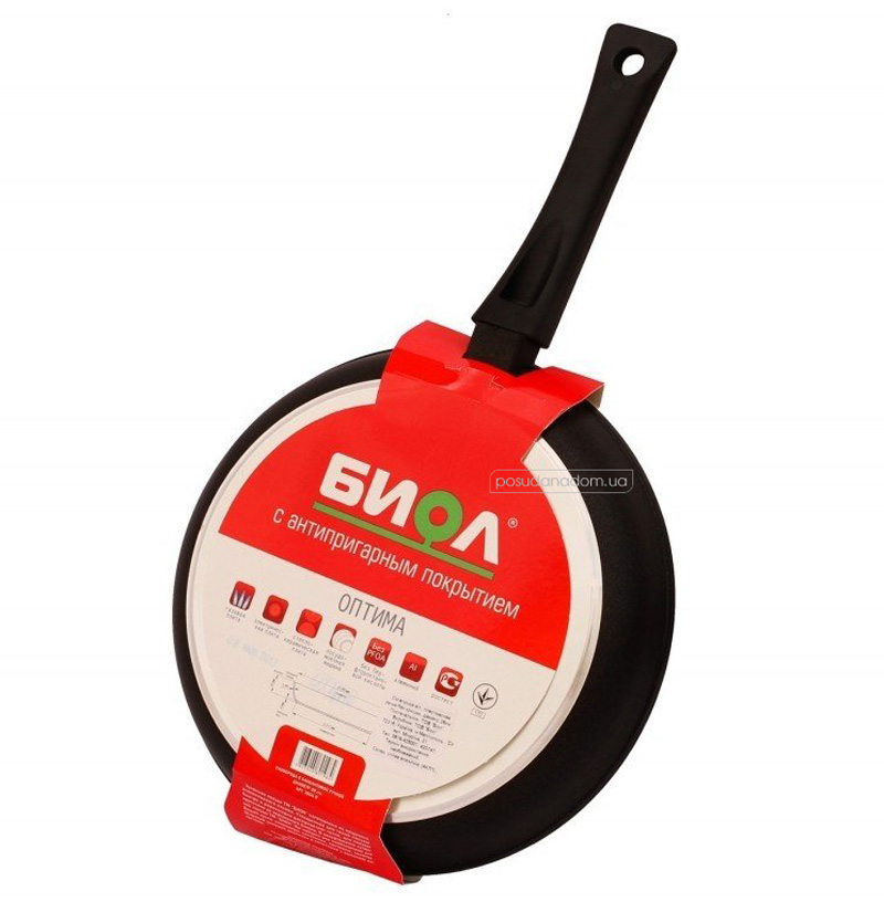 Сковорода Биол 2604П 26 см, недорого