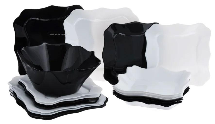 Столовый сервиз Luminarc e6195 Authentic Black/White 19 пред.