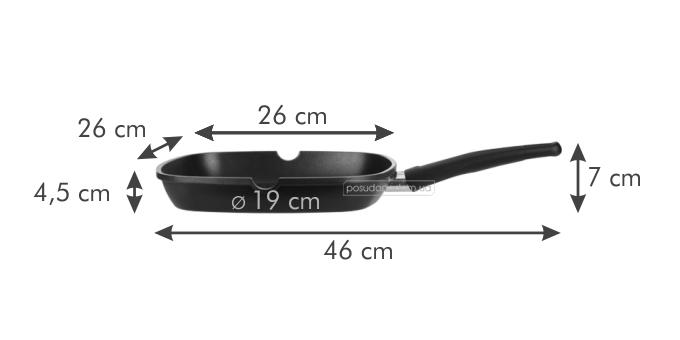 Сковорода для стэйков Tescoma 601246 PREMIUM 26 см, каталог
