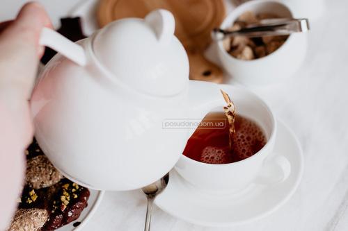 Чашка кофейная с блюдцем Wilmax WL-993002 Olivia 100 мл акция