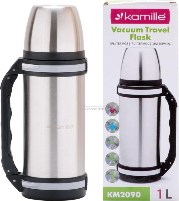 Термос Kamille 2090 1 л в ассортименте