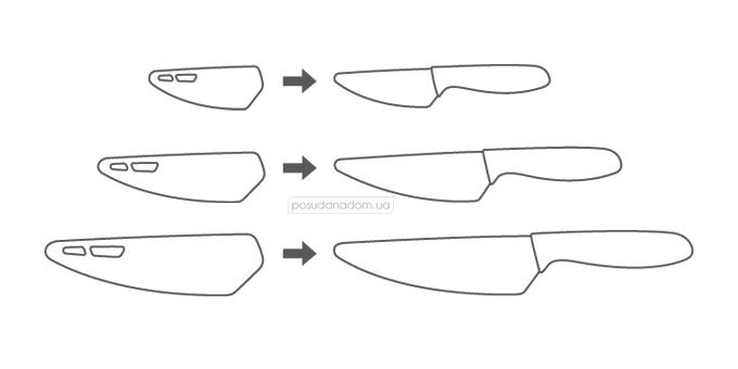 Нож керамический Tescoma 642720 VITAMINO, каталог