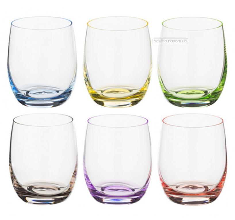 Набор стаканов Bohemia 25180-D4662-300 Rainbow Club 300 мл