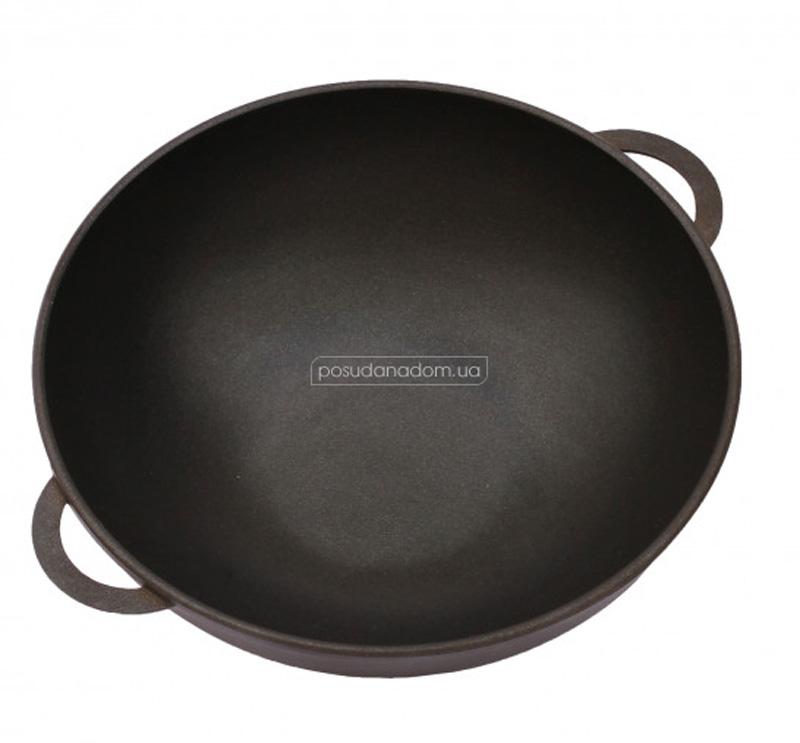 Сковорода Wok с крышкой Биол 3003ПС 30 см, недорого