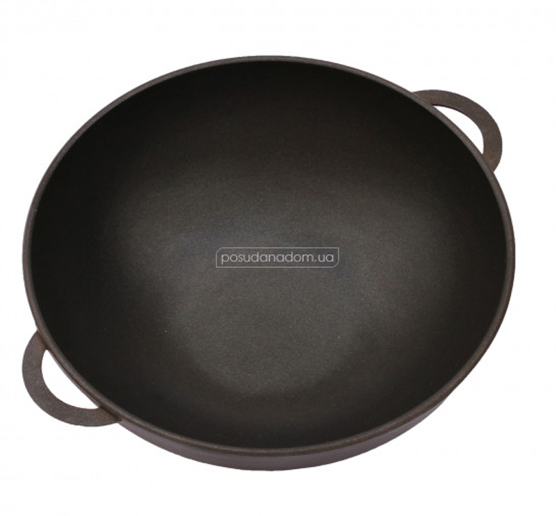 Сковорода Wok с крышкой Биол 3203ПС 32 см, недорого