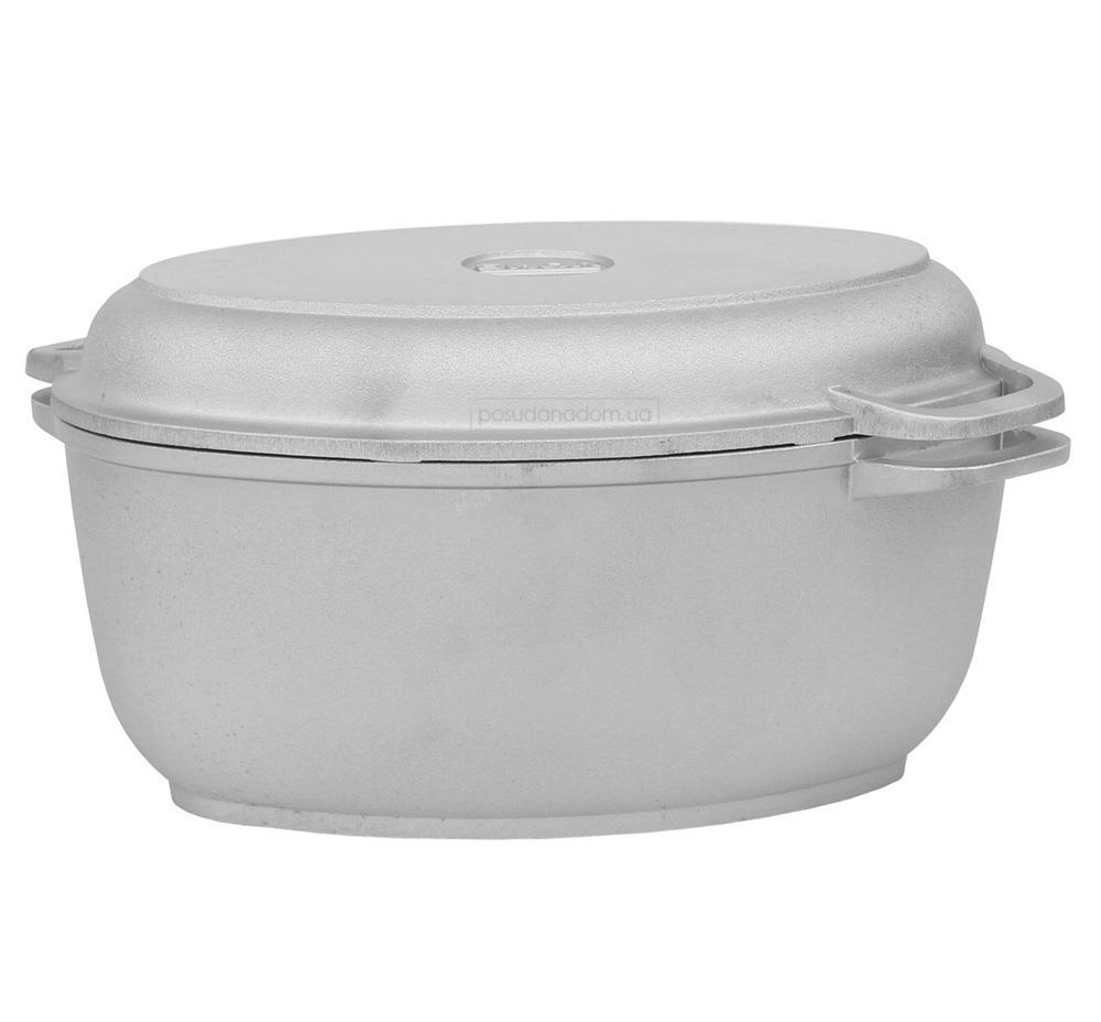 Гусятница с крышкой-сковородой Биол Г301 2.5 л, недорого