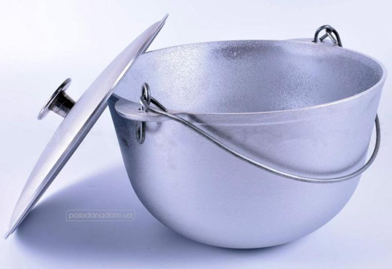 Казан походный алюминиевый Биол К0800т 8 л, цвет