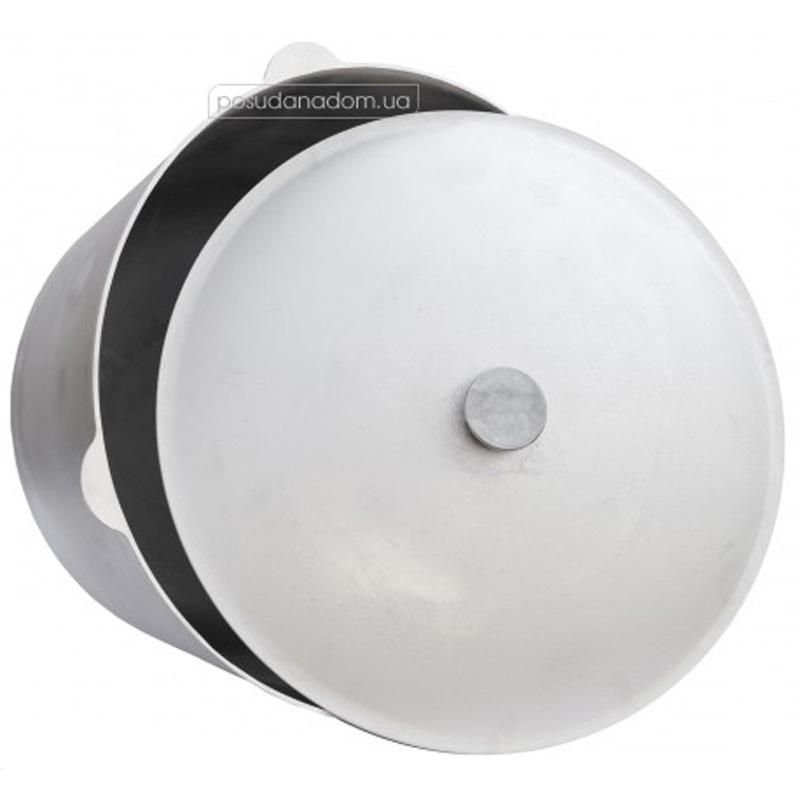 Казан с крышкой алюминиевый Биол К0600 6 л, цвет