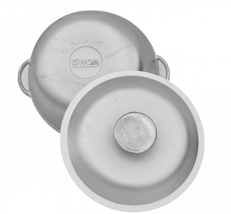 Кастрюля алюминиевая Биол К0150 1.5 л, недорого
