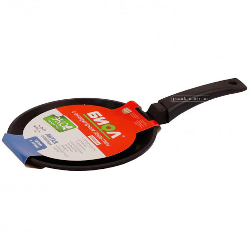 Сковорода блинная Биол 2008П 20 см в ассортименте