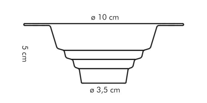 Воронка универсальная для сыпучих продуктов Tescoma 420598 PRESTO, каталог