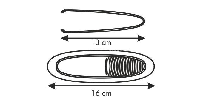 Щипцы для удаления костей рыбы Tescoma 420530 PRESTO, цвет