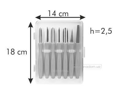 Набор для фигурной нарезки Tescoma 422010 PRESTO CARVING, цвет