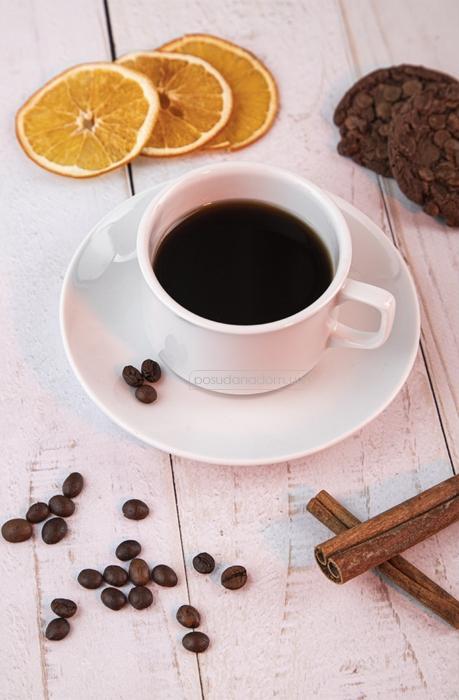 Набор чашка с блюдцем Gural ES02CT00 240 мл, цвет