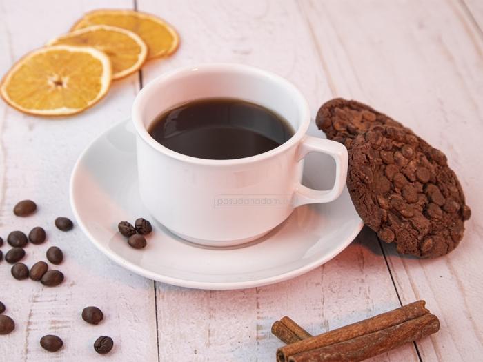 Набор чашка с блюдцем Gural ES02CT00 240 мл, недорого