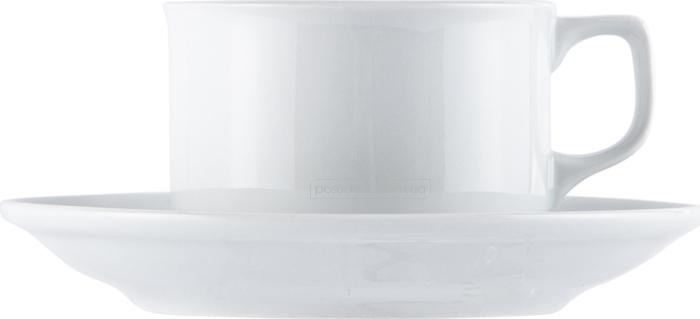 Набор чашка с блюдцем Gural ES02CT00 240 мл