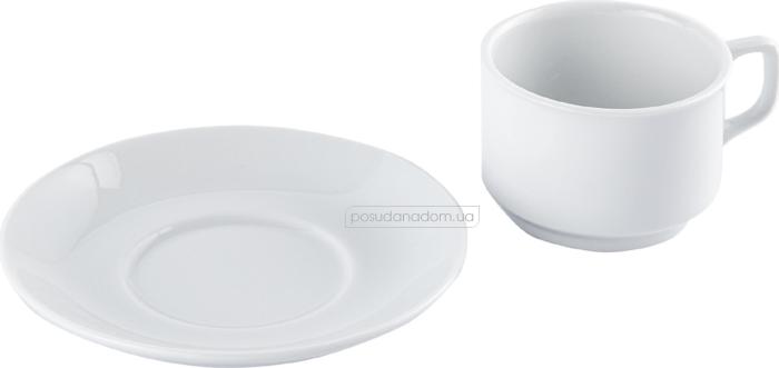 Набор чашка с блюдцем Gural ES02CT00 240 мл акция