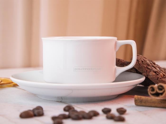 Набор чашка с блюдцем Gural ES02CT00 240 мл в ассортименте